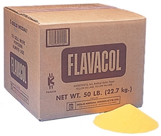 Picture of Flavacol Flavored Butter Seasoned Salt - 50 lb.