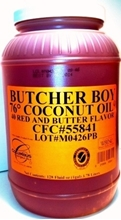 Picture of Butcher Boy Coconut Oil - 1 gallon jar Butcher Boy Oil - 1 gallon