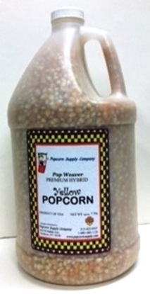 Picture of Pop Weaver Gourmet Popcorn - 1 gal. YELLOW