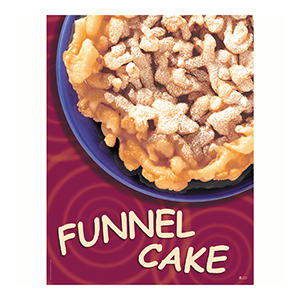 Funnel Cake Poster