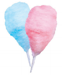 Pink & Blue Cotton Candy