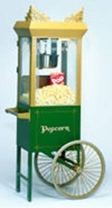 Gold Medal Antique Deluxe Sixty Special on Green Cart