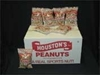 Houstons Roasted fancy salted in shell peanuts CASE
