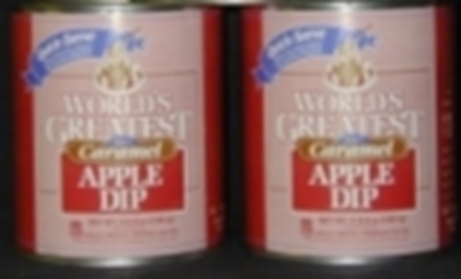 Quick serve caramel - Case of 6 cans Caramel Apple