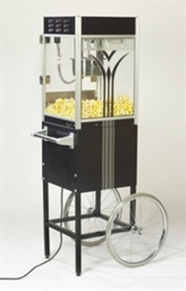 Picture of 2454 Retro 4 oz. Popcorn Machine on 2649RT Cart