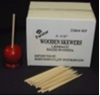 "Wood Skewers 5-1/2"" long Case Candy Apple"