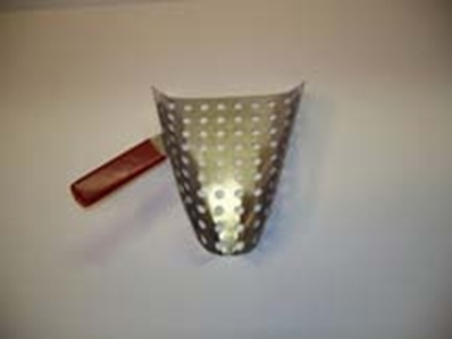 Left Handed Perforated Popcorn Scoop 2084