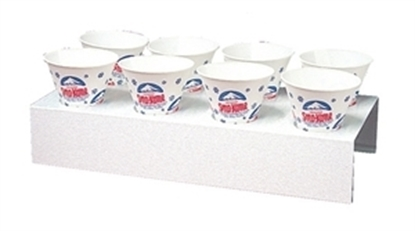 1076 Gold Medal 8 Cup Sno-Kone Counter Tray