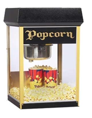 Picture of FunPop 8 oz. Popcorn Machine Black