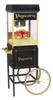 Gold Medal 2408BKG Popcorn Machine on black cart