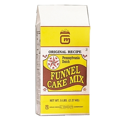 Picture of Deluxe Pennsylvania Dutch Funnel Cake Mix  case of six 5lb.