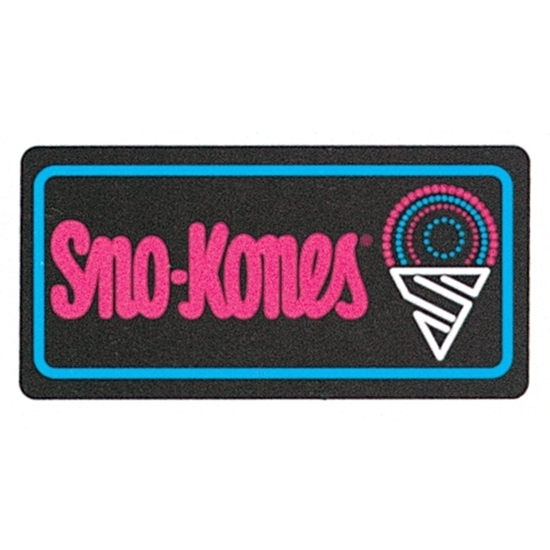Lighted Funfood Snow Cone Sign  1984
