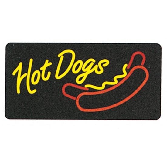 Lighted Hot Dog Sign 8984