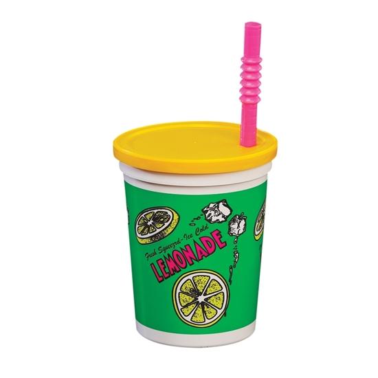 16oz Plastic Lemonade Cups 5309
