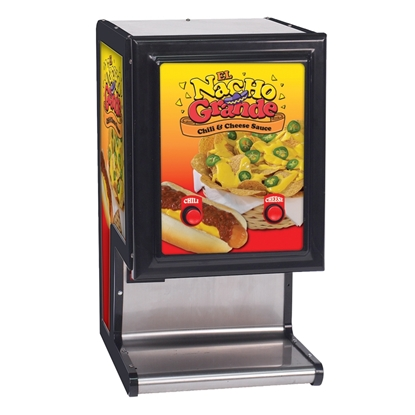 Picture of Gold Medal 5301 El Nacho Grande Bag Cheese and Chili Dispenser