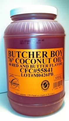 Picture of Butcher Boy Coconut Oil - 1 gallon