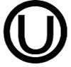 symbol circled U