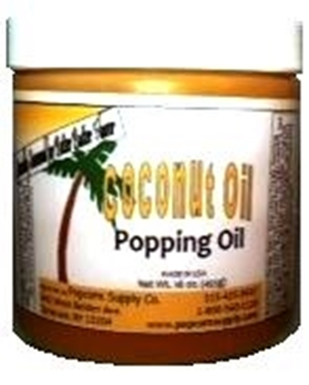 Picture of Coconut Oil Popping Oil - 1 lb. jar