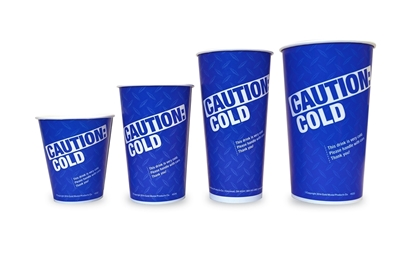 Caution: Cold Drink Cup Gold Medal