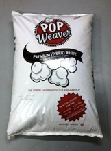 White bulk Popcorn