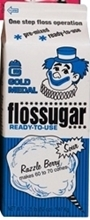 Sour Blue Razzleberry Flossugar Case