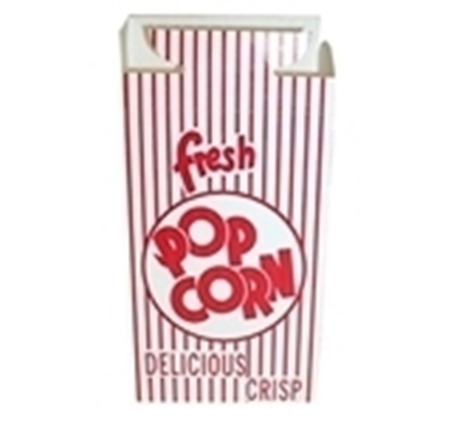Picture of Popcorn Box 1E  Closed top CASE/500