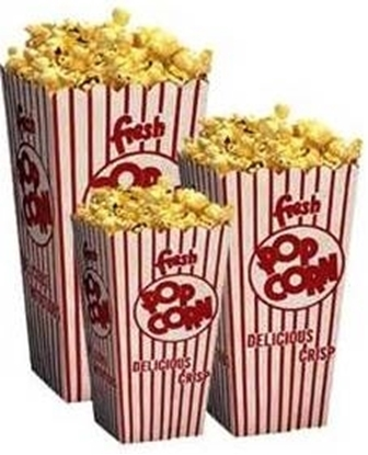 Popcorn Boxes Open Top