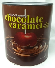 Picture of Chocolate Caramel Apple Dip #4125 Chocolate & Caramel Apple Dip