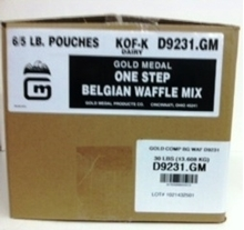 Picture of One Step Belgian Waffle Mix 5017 - CASE of 6/ 5LB Bags