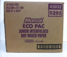 Picture of Waxed Interfolded Deli Paper JR. Size 12/500/case