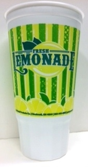 Picture of Tapered Plastic Lemonade Cup 32 oz. GM5307