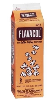 Flavacol Butter Flavored Seasoned Salt gold medal 2045