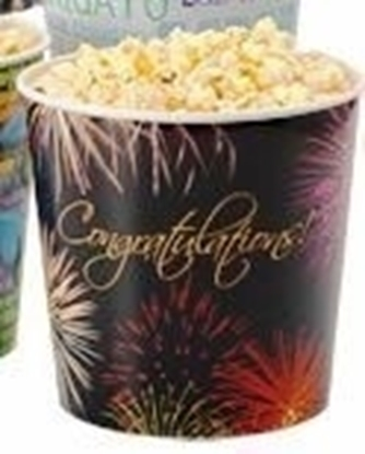 Picture of Popcorn Gift Tubs with Lids