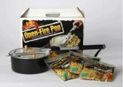Picture of OPEN FIRE POP POPCORN POPPER