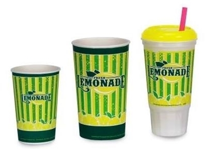Picture of Lemonade Cups and Lids - 16 oz & 32 oz