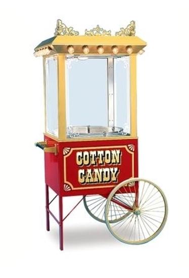 cotton candy machine on 3118cf cart - Cotton Candy Machines