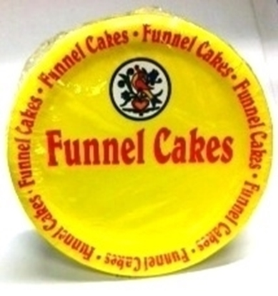 Funnel Cake Plates