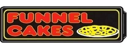 Lighted Funfood Signs Funnel Cakes 8084