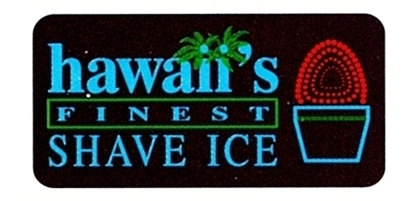 Lighted Funfood Sign Hawaiis Finest Shave Ice  Gold Medal 1084
