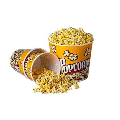 Plastic Popcorn Tubs Reusable Whirley jumbo