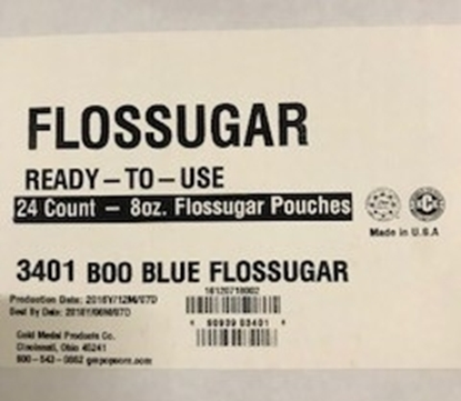 Boo Blue Pouch