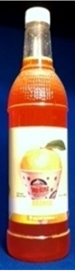 Orange Sno-Treats syrup 1428