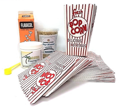 TENDER HULLESS POPCORN PACKAGE