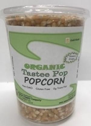 Picture of Tastee Pop Organic Popcorn 2 lb.
