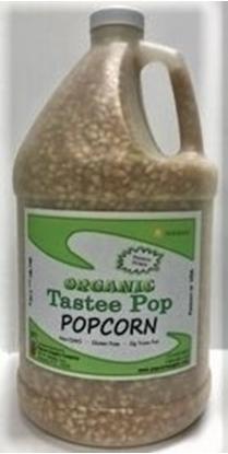 Picture of Tastee Pop Organic Popcorn Gallon