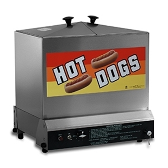 8012 Gold Medal Super Steamin Hot Dog Steamer