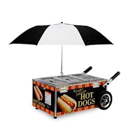 Go Anywhere Hot Dog Merchandiser 8080NS Gold Medal