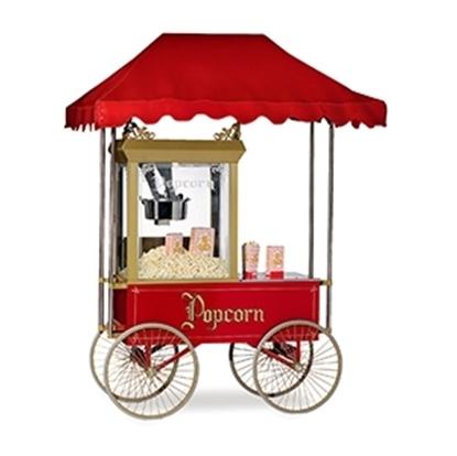 Antique 14oz wagon & canopy