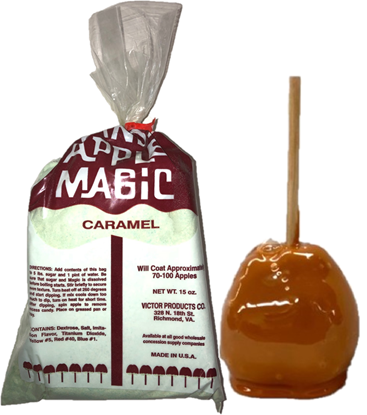 candy apple magic caramel