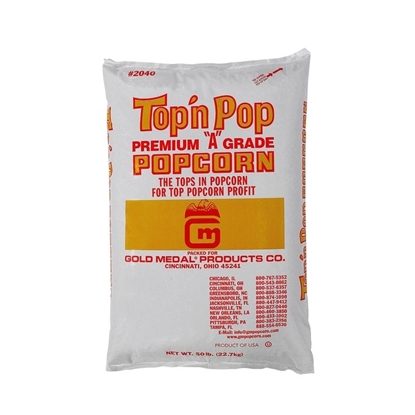Picture of Top N Pop® Premium Popcorn Gold Medal 2032WG 35lb Bag